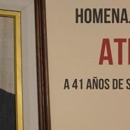 Homenaje de la Legislatura y del Movimiento Obrero de Córdoba a la memoria de Atilio López